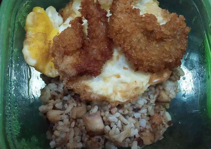 Nasi goreng seafood (bekal ngantor)