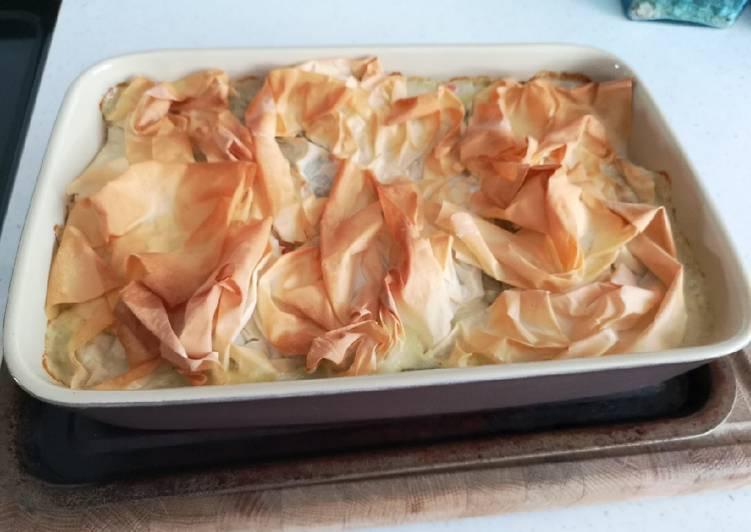 Crispy Chicken Pie