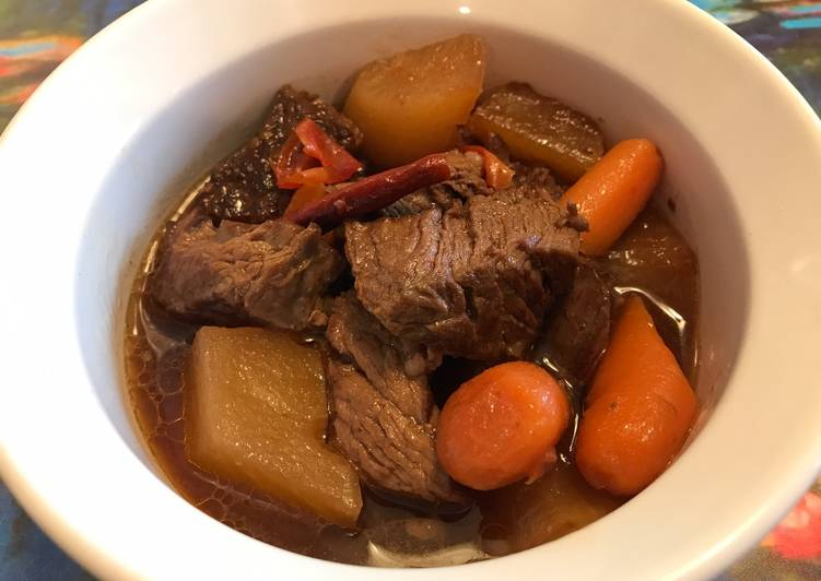 Chinese Spicy Beef Stew Recipe By Note A Licious Cookpad