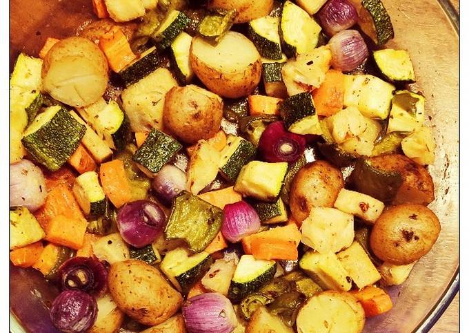 Italian Grilled Winter Vegetables