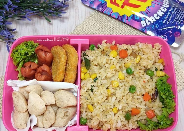 Resep Bekal Sekolah Anak (Nasi Goreng Sayuran) Bikin Ngiler