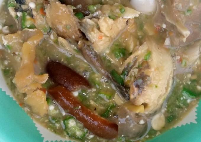 Blender Okro Soup