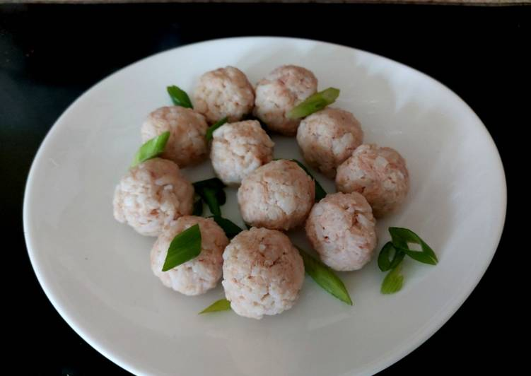 My Tuna Rice balls with Ricotta Cheese 🤩