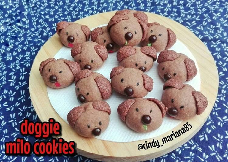 Doggie Milo Cookies - cookandrecipe.com