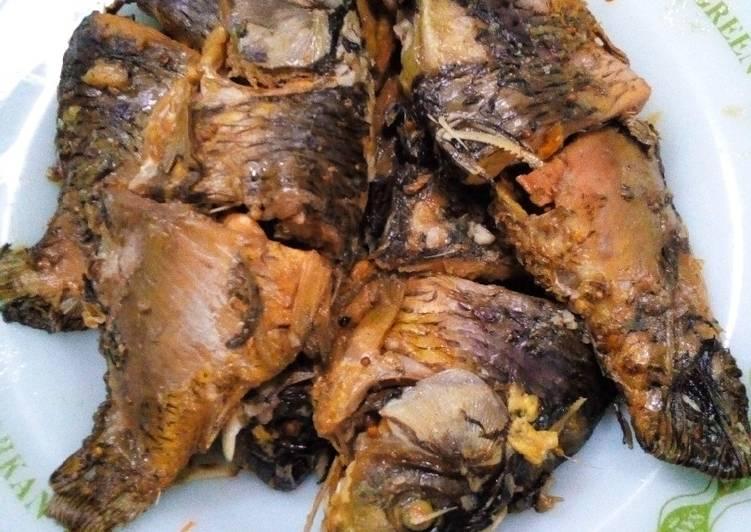 Ikan mas presto tulang lunak