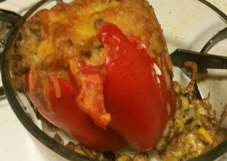 Steps to Prepare Speedy Stuffed Bell Peppers