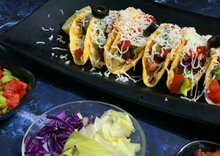 Easiest Way to Prepare Perfect Vegetarian Beans Tacos