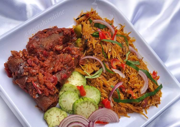 Absolutely Ultimate Dinner Ideas Quick African salad (Abacha)