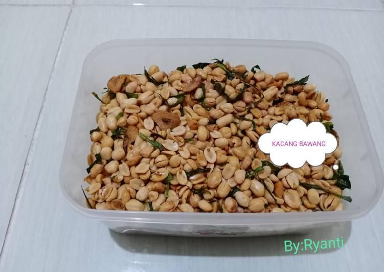 Kacang Bawang Renyah & Gurih