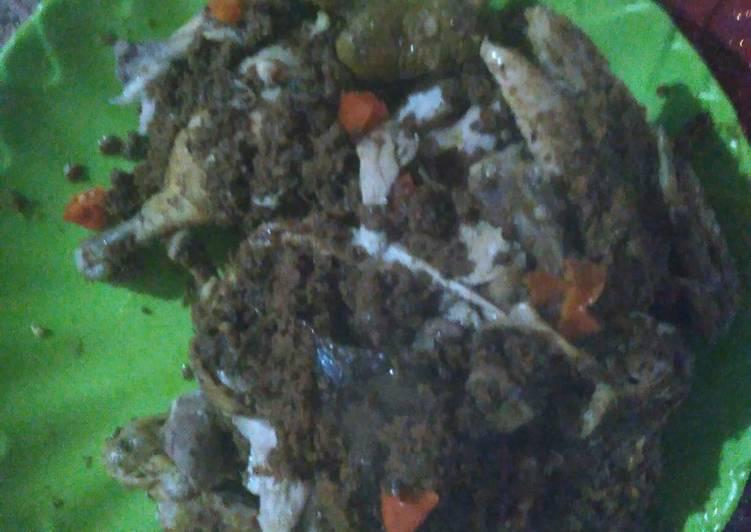 Ayam betutu khas bali ala niken