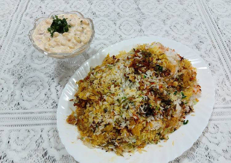 Recipe of Speedy Chicken tikka masala biryani