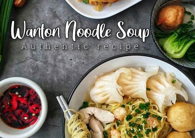 Wanton Noodle Soup (Mee Wantan Sup) # PhopByLini #batch20