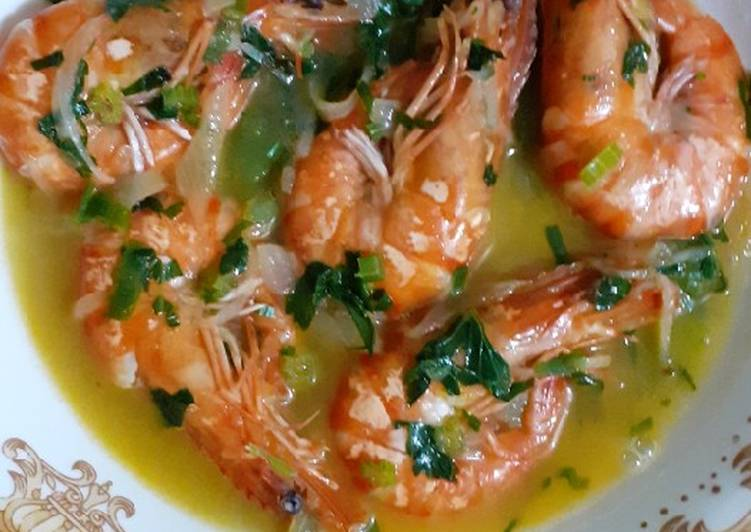Soup shrimp keto
