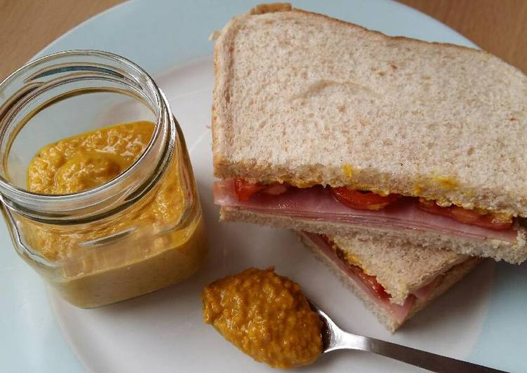 Step-by-Step Guide to Prepare Award-winning Vickys Homemade Wholegrain Mustard