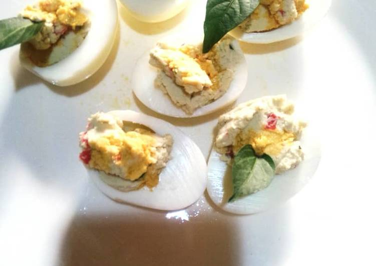 Use Food to Elevate Your Mood Deviled egg