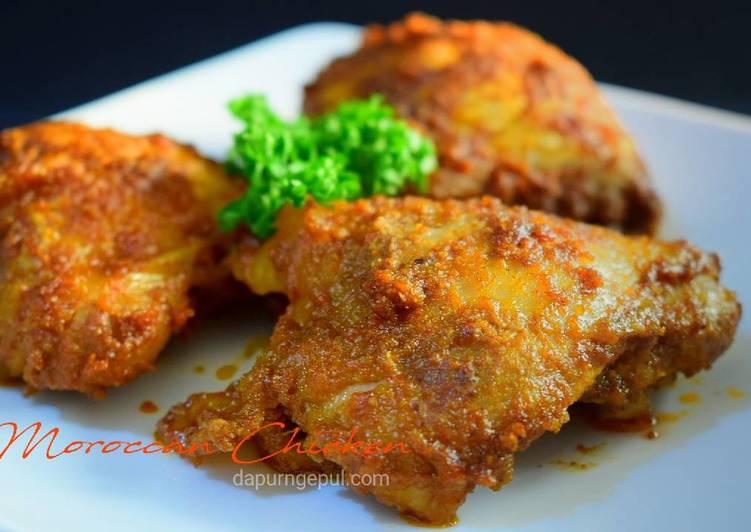 Moroccan Chicken (Ayam Panggang ala Maroko)
