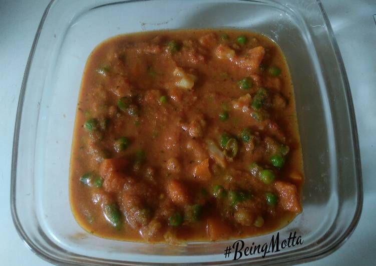 Steps to Prepare Favorite Mix veg curry
