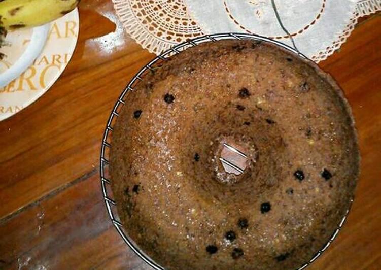 Brudel Pisang Coklat