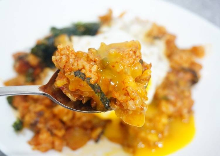 Korean Kimchi Fried Rice (Easy)