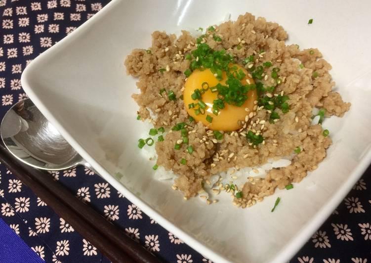 Japanese Seasoned Chicken Crumbles