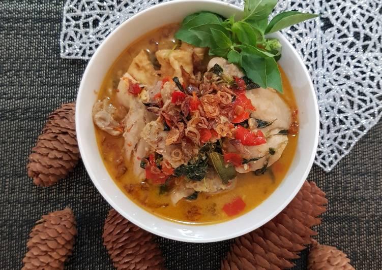 Resep Gulai Ayam Tahu Kemangi Yang Populer Bikin Nagih