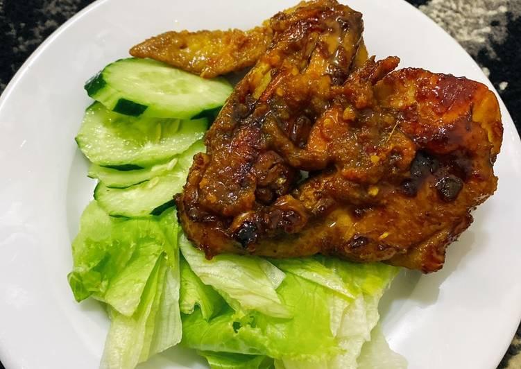 Ayam Bakar Kecap pakai Kecupan 😘