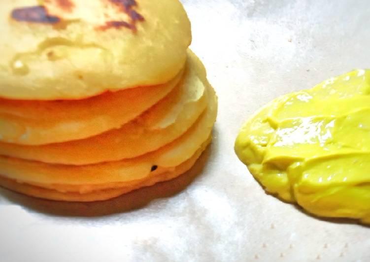 ¹⁹ Avocado durian pancake sauce🥞