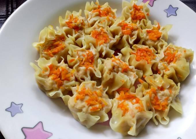 Siomay Ayam Wortel - Buat Snack Anak