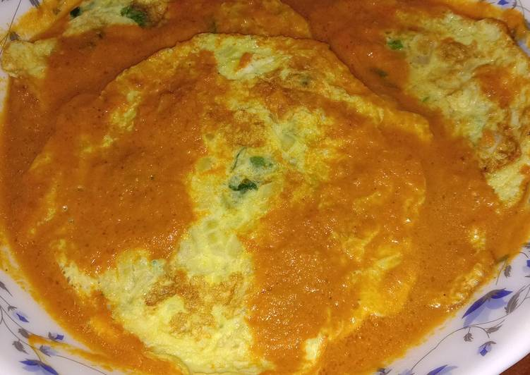 Recipe of Ultimate Omelette Curry