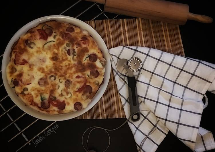 Recipe of Ultimate My favorite pizza