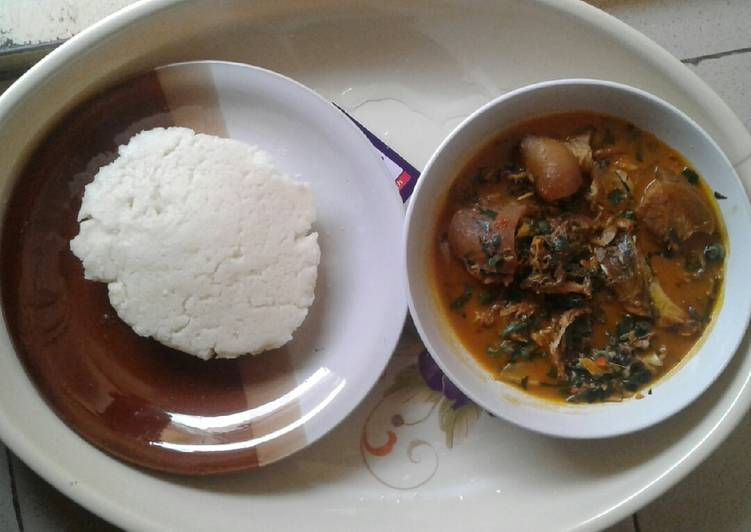 Easiest Way to Prepare Quick Native soup with Semo