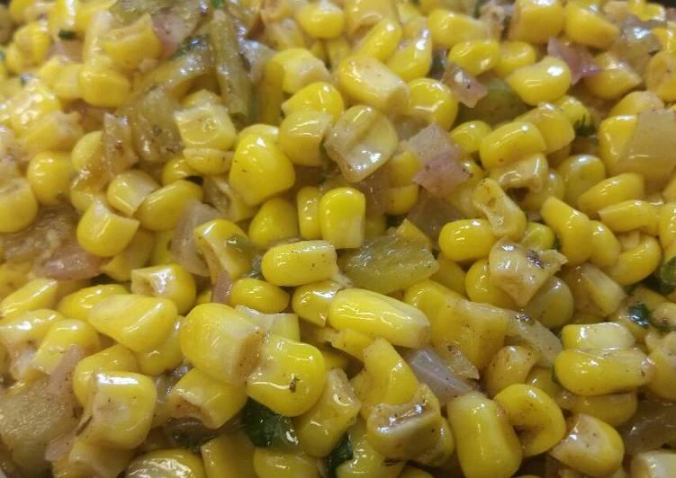 Corn w/ Coconut & Green Chiles #2