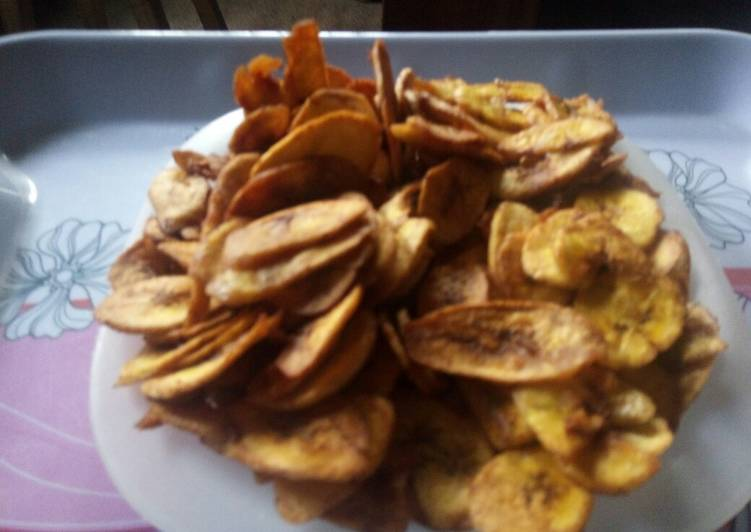 Peppered Plantain Chips