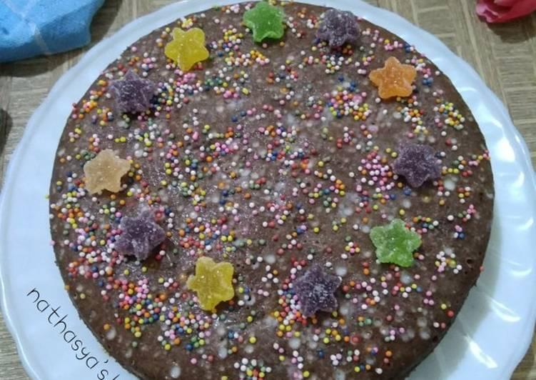 Cake Nutrijell Coklat (gluten free)