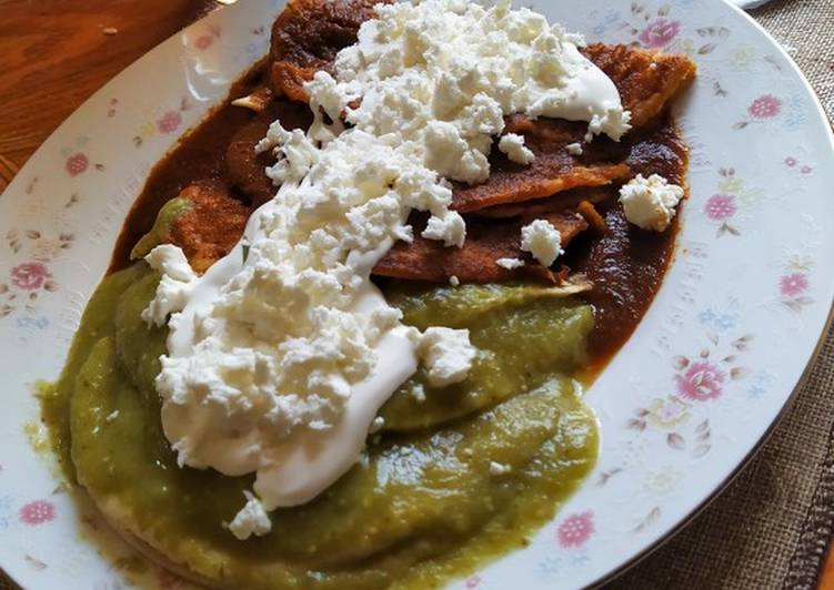 Enchiladas caprichosas