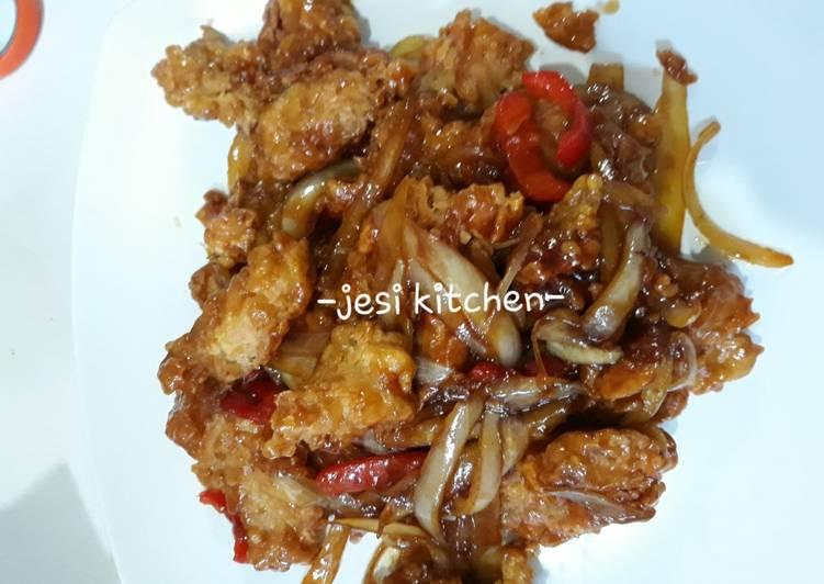 Ayam Crispy Mentega