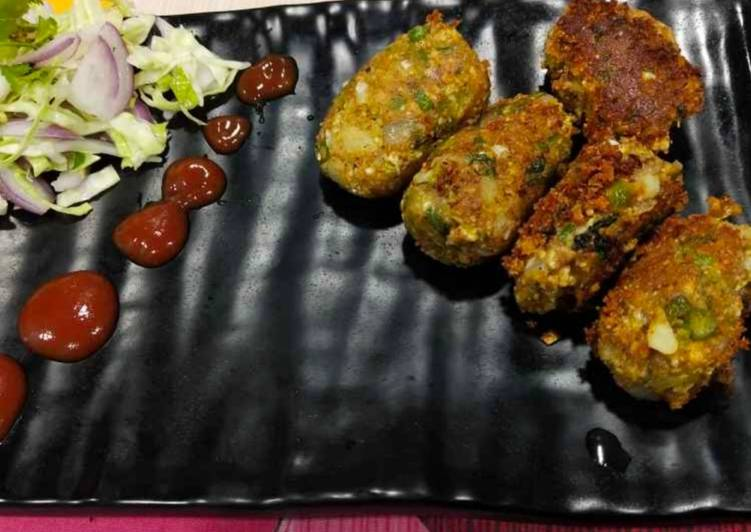 Recipe of Ultimate Veg shammi kebbab