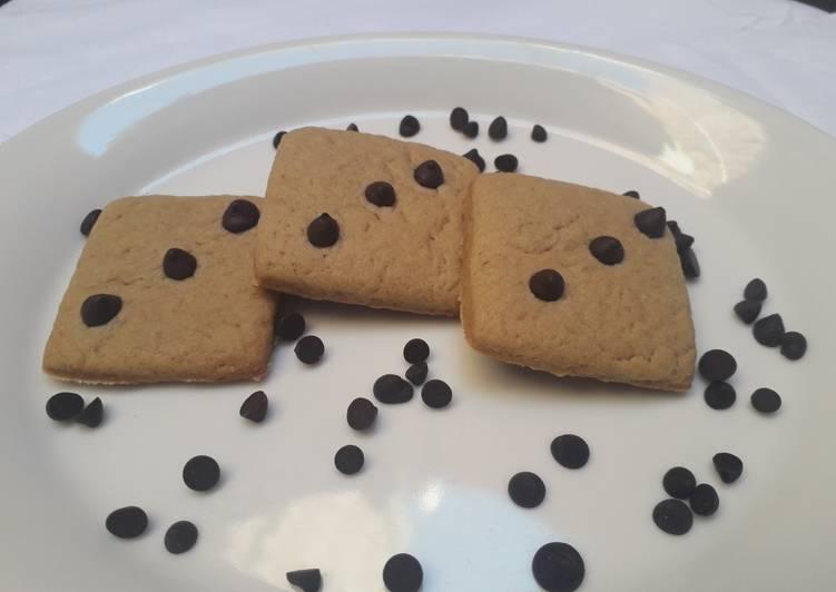 Caramel flavor cookies