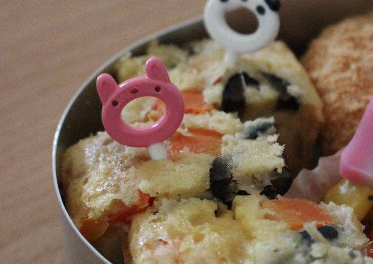 5 Minute Recipe of Special Cake Salé: Tuna and Olive