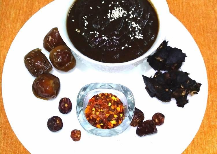 Simple Way to Prepare Speedy Dates and tamarind chutney