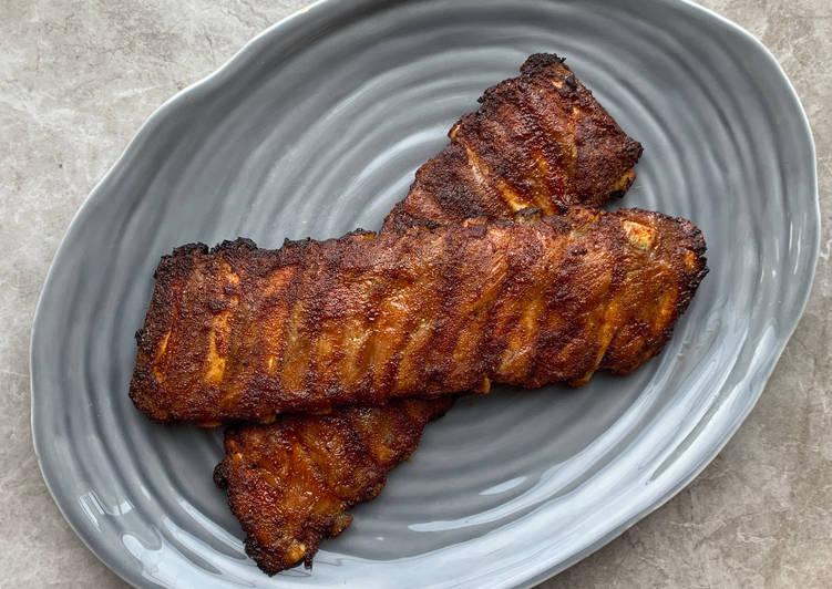 Recipe: Yummy No.66 Peter's Dry Rub Pork Ribs (Revisited)