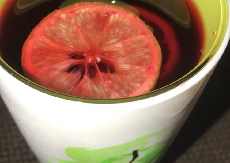 African Food Zobo/hibiscuss drink