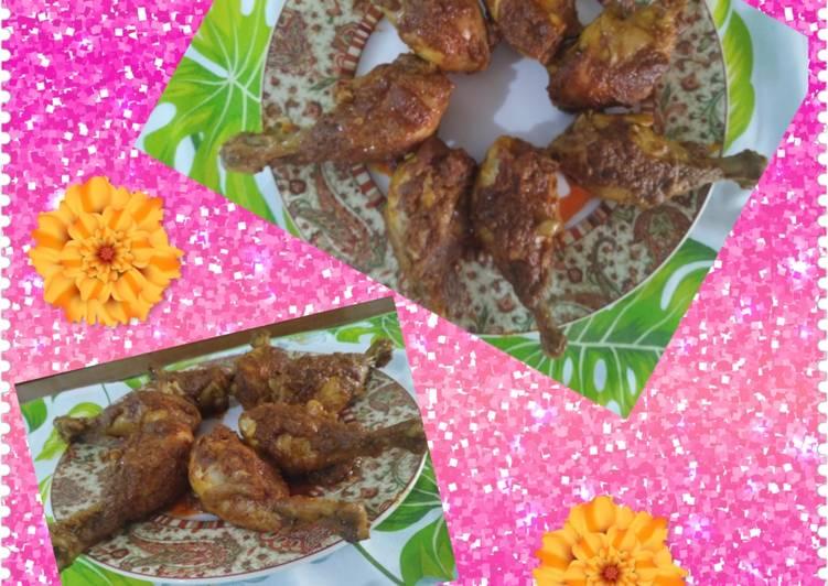 Cara Menyiapkan Ayam Bumbu Rendang, Bisa Manjain Lidah