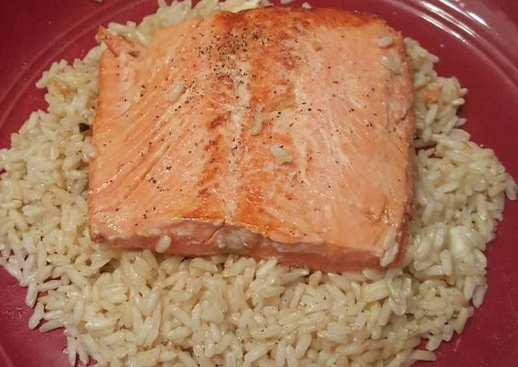 Mantastic Wild Alaskan Salmon and Brown Rice