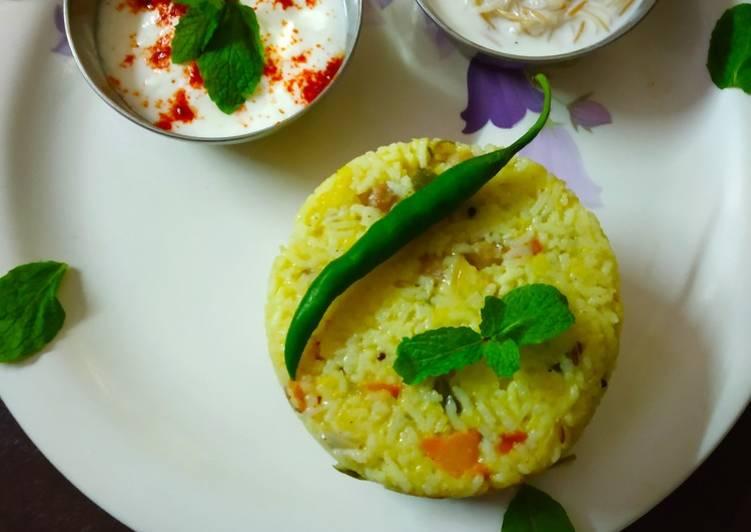 Veg daal rice