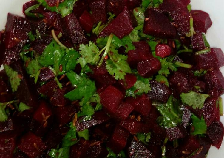 Step-by-Step Guide to Prepare Award-winning Beetroot salad