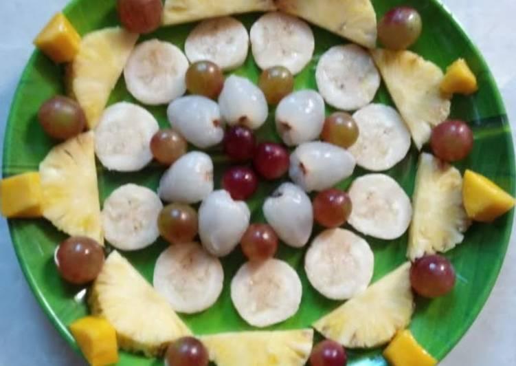 Recipe of Perfect Fruit Salad