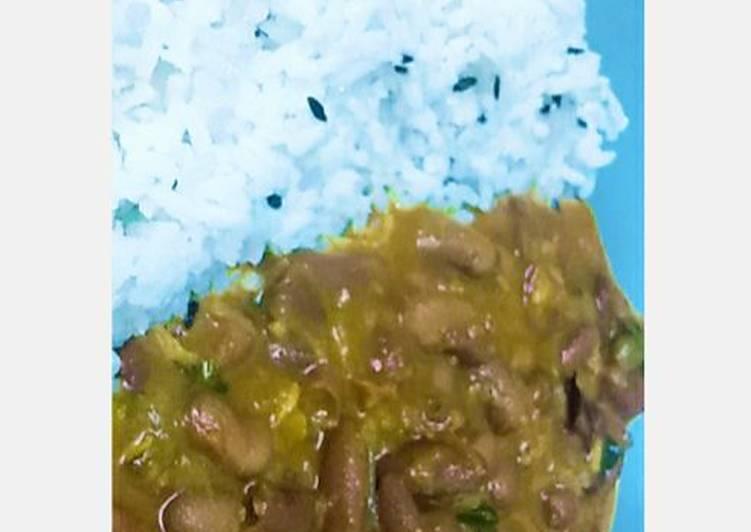 Top 10 Dinner Ideas Royal Rajma with white jeera rice