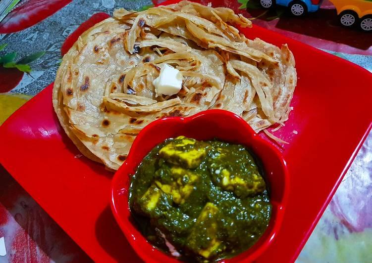Recipe: Appetizing Palak Paneer ❤️
