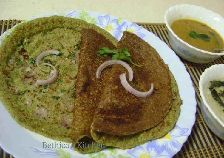 RECOMMENDED! Secret Recipes Onion Pesarattu Dosa